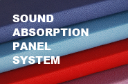 SOUND ABSORPTION PANEL SYSTEM